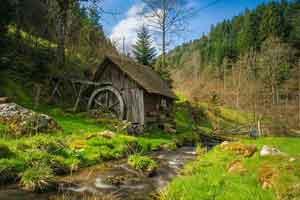 baden-wuerttemberg - Der Schwarzwald erstreckt sich über große Teile im Südwesten...